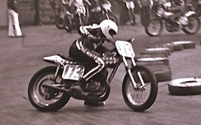 Indoor Flat Track Racing at the St. Paul Fairgrounds