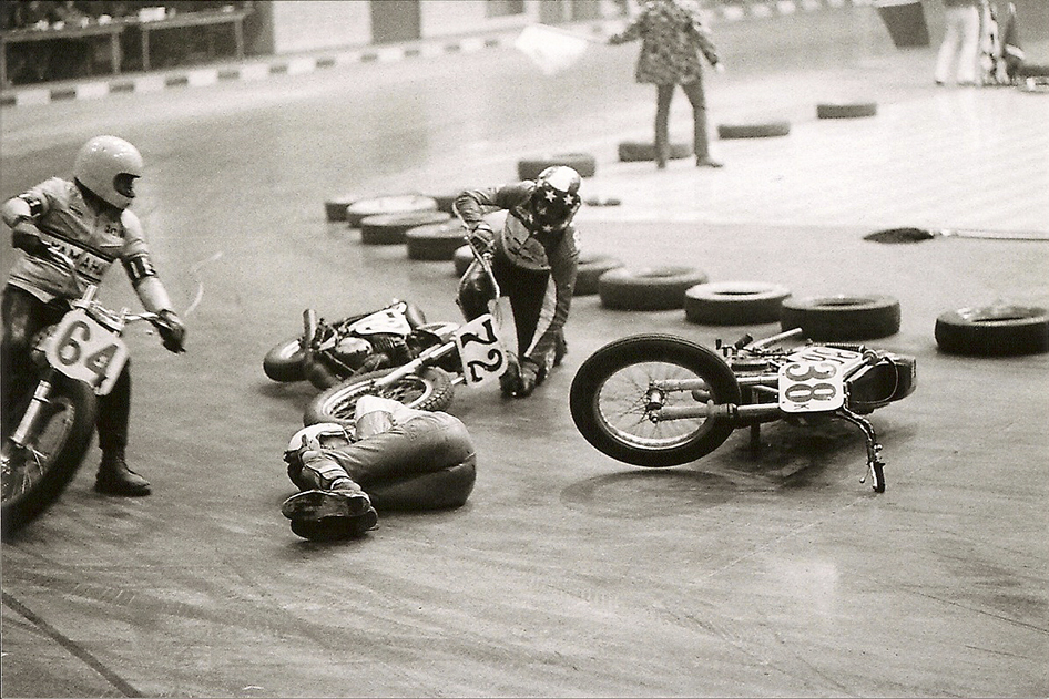 Indoor Flat Track Racing during the War of the Twins will be a no-holds-barred battle