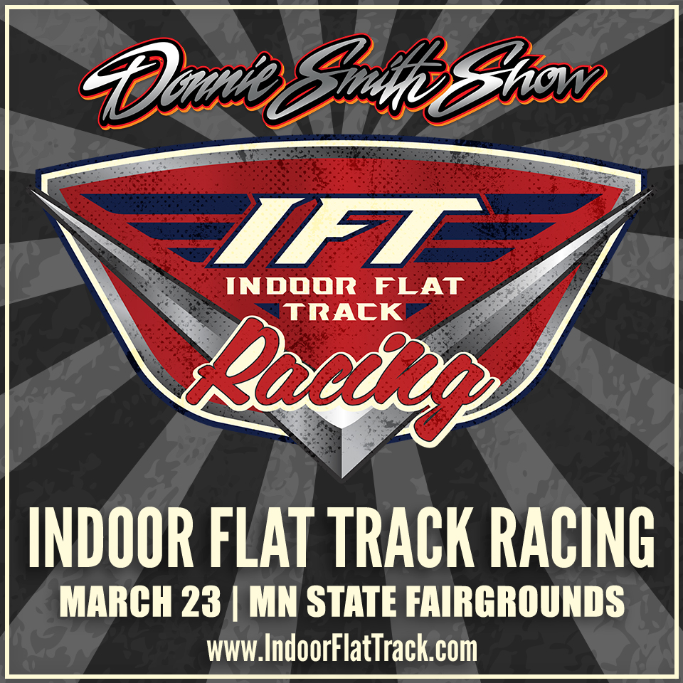 Get Your Indoor Flat Track Racing Tickets for March 23 at the Minnesota State Fairgrounds