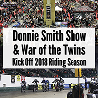 War of the Twins and Donnie Smith Show coverage from the Sturgis Rider News blog